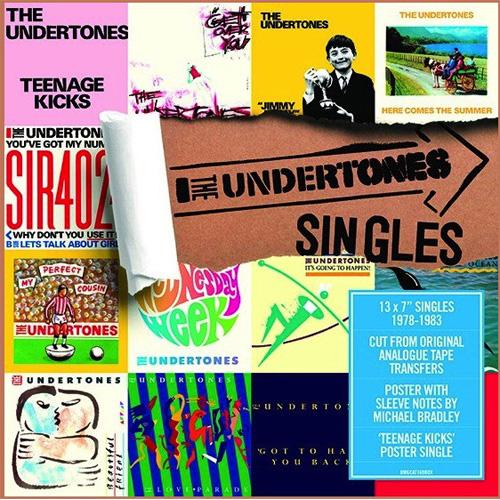 "THE UNDERTONES / アンダートーンズ / SINGLES BOX (7"" *13)"