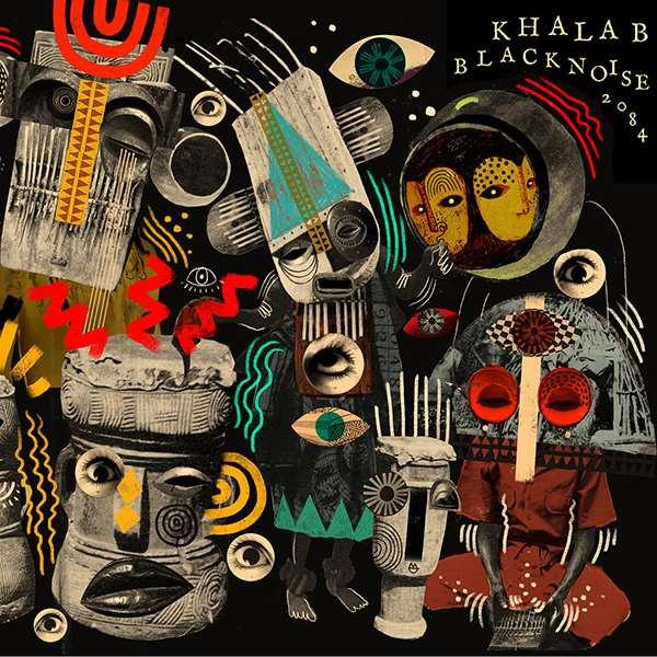 DJ KHALAB / DJ カーラフ / BLACK NOISE 2084