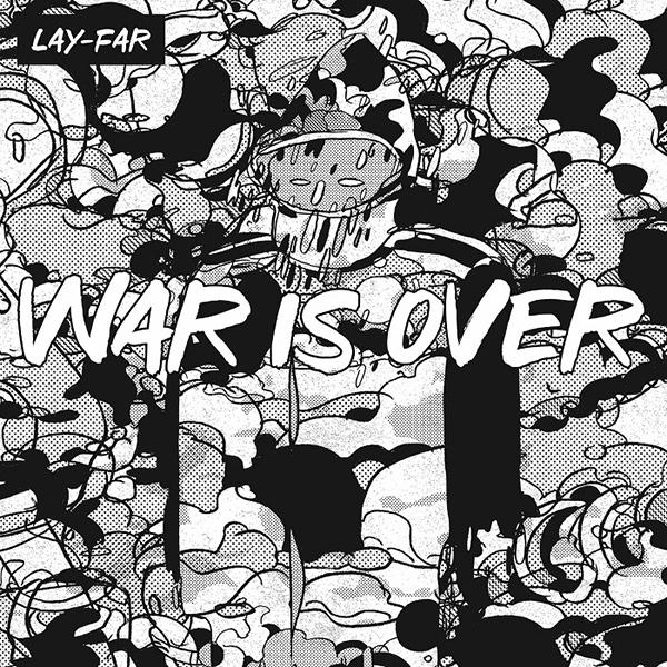 LAY-FAR / レイ・ファー / WAR IS OVER / ウォー・イズ・オーバー (日本流通盤/帯,4Pブックレット付属)