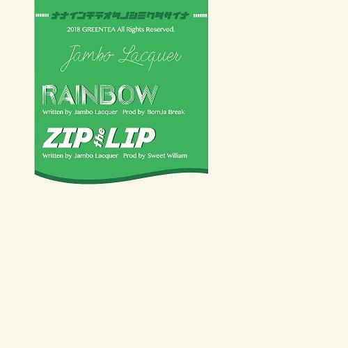 "Jambo Lacquer from WARAJI / ジャンボラッカー / RAINBOW / ZIPtheLIP 7"""
