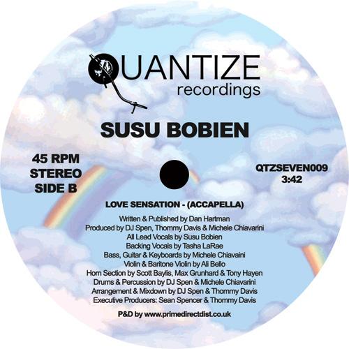 "SUSU BOBIEN / LOVE SENSATION (7"")"