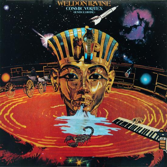 WELDON IRVINE / ウェルドン・アーヴィン / COSMIC VORTEX(JUSTICE DIVINE) (LP)