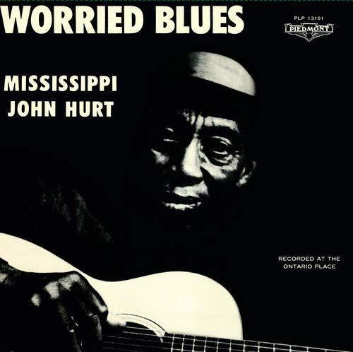 MISSISSIPPI JOHN HURT / ミシシッピ・ジョン・ハート / WORRIED BLUES (LP) / WORRIED BLUES (LP)