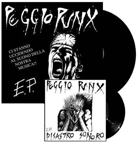 """PEGGIO PUNX / ペッジオパンクス / CI STANNO UCCIDENDO AL SUONO DELLA NOSTRA MUSICA!! EP (12""""+7"""")"""
