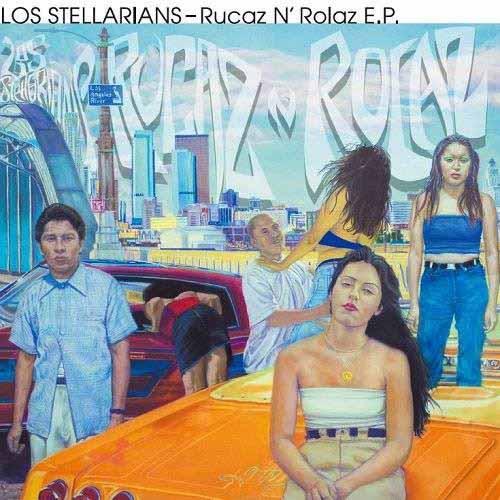 """LOS STELLARIANS / ロス・ステラリアンズ / RUCAZ N ROLAZ E.P. (ZODIAC / KEEP IT UP) (7"""")"""