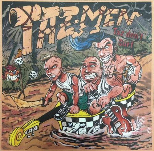 TAZMEN / TAZ DON'T SURF (LP)