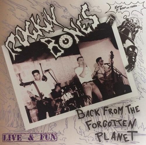 ROCKIN' BONES (RUSSIA) / BACK FROM FORGOTTEN PLANET: LIVE & FUN (LP)