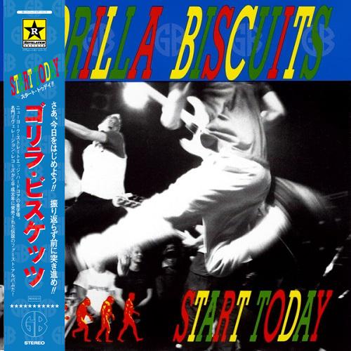 GORILLA BISCUITS / ゴリラ・ビスケッツ / START TODAY (LP/帯・ライナー付き)