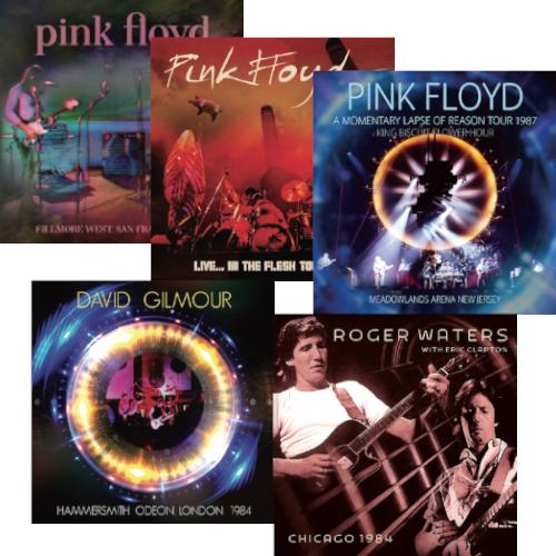 PINK FLOYD / ピンク・フロイド / ライヴ盤5タイトルまとめ買いセット