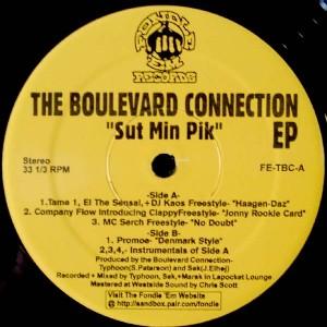 BOULEVARD CONNECTION / SUT MIN PIK - US ORIGINAL PRESS -