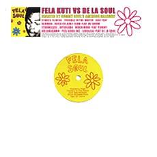 FELA SOUL (Fela Kuti + De La Soul) / FELA KUTI vs DE LA SOUL アナログLP