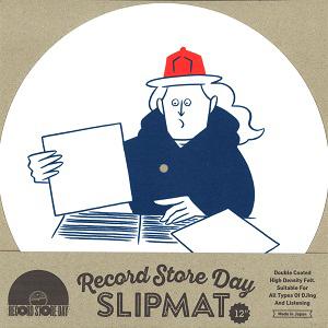 """スリップマット / タケウチアツシ×RECORD STORE DAY 2017 12"""" SLIPMAT (1枚組)"""