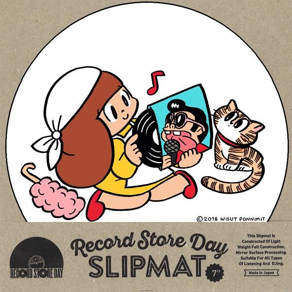 """スリップマット / マムアン×RECORD STORE DAY 2018 7"""" SLIPMAT (1枚組)"""