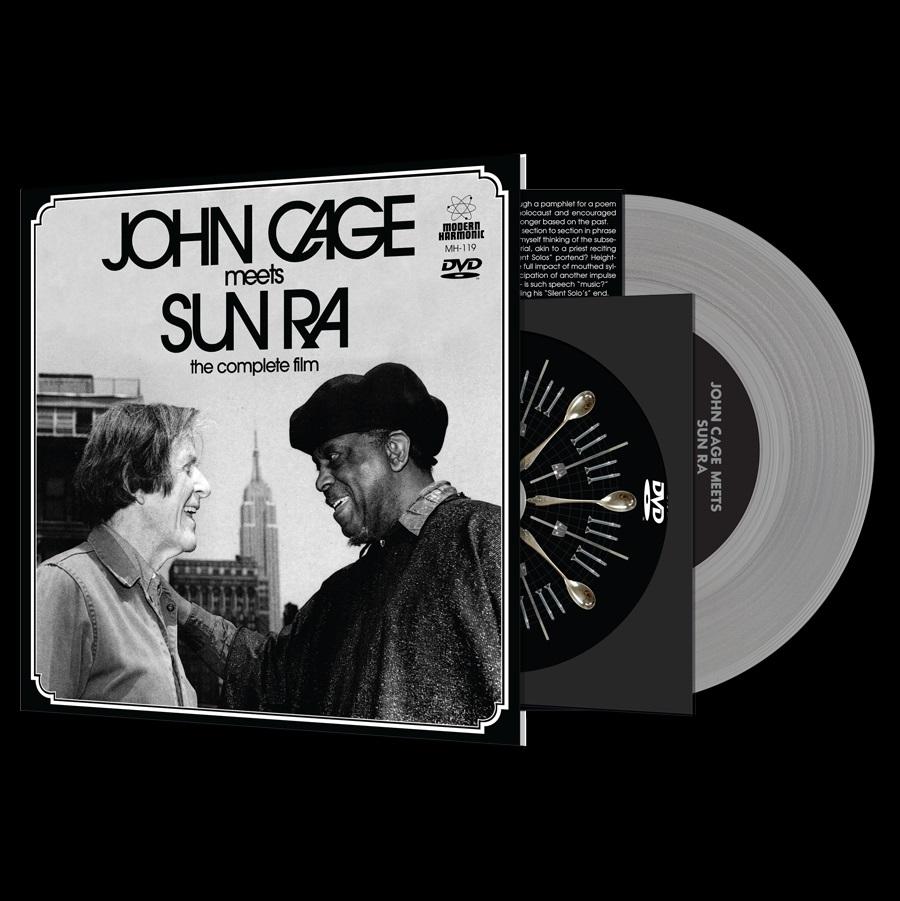 "JOHN CAGE MEETS SUN RA / JOHN CAGE MEETS SUN RA: THE COMPLETE FILM [7""+DVD]"