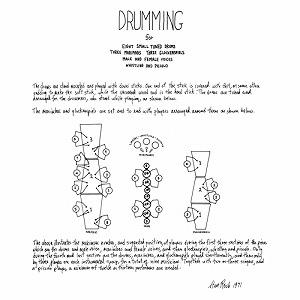 STEVE REICH / スティーヴ・ライヒ / DRUMMING (2LP)