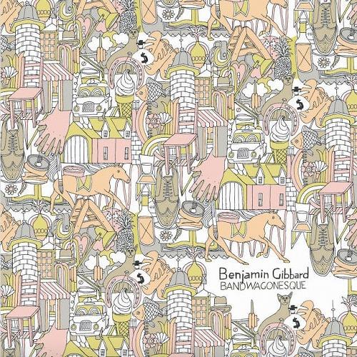 "BEN GIBBARD / BANDWAGONESQUE (LP+7"")"