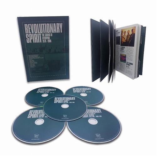 V.A. / REVOLUTIONARY SPIRIT - THE SOUND OF LIVERPOOL 1976-1988 (5CD)
