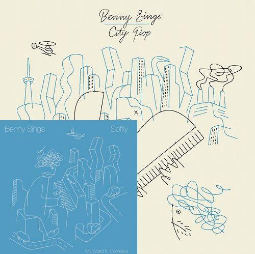 "BENNY SINGS / ベニー・シングス / CITY POP (LP+7"")"