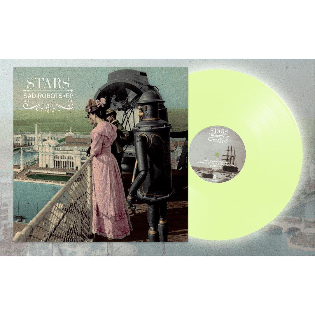 "STARS (CANADA) / スターズ / SAD ROBOTS [COLORED 180G 12""]"