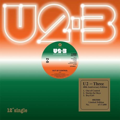 "U2 / THREE [12"" EP]"