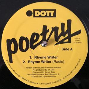 POETRY / RHYME WRITER