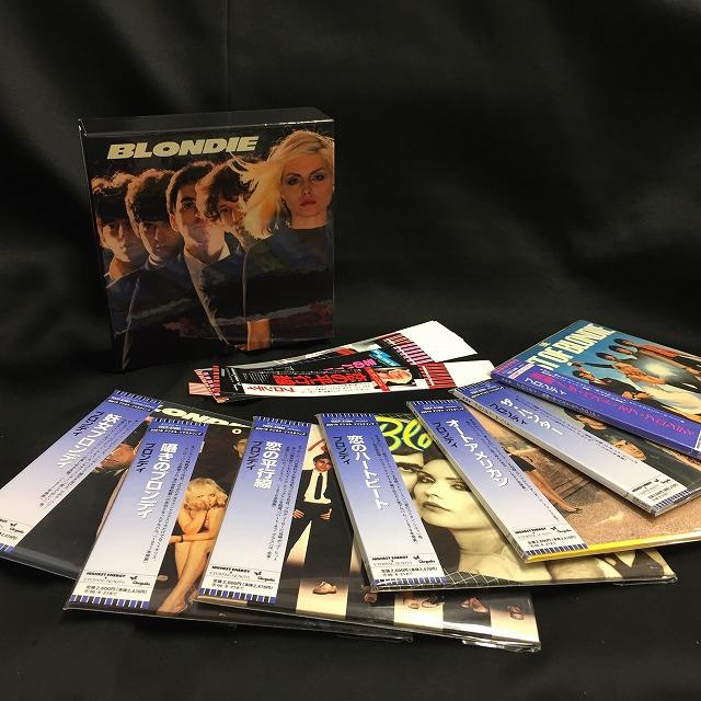 BLONDIE / ブロンディ / 紙ジャケットCD 7タイトル「妖女ブロンディ」BOXセット