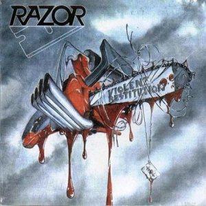 RAZOR / レイザー / VIOLENT RESTITUTION