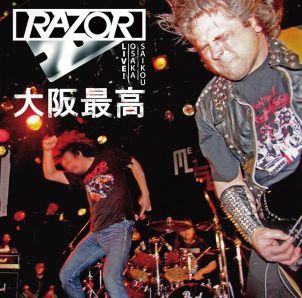 RAZOR / レイザー / LIVE OSAKA SAIKOU / ライブ!大阪最高
