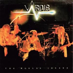 VARDIS / ヴァーディス / THE WORLD'S INSANE / ザ・ワールズ・インセイン<紙ジャケット/HQCD>