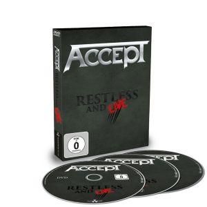 ACCEPT / アクセプト / RESTLESS & LIVE<DVD+2CD>