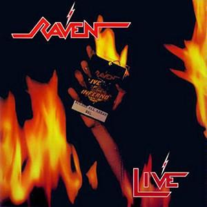 RAVEN (NWOBHM) / レイブン / LIVE INFERNO<RED VINYL>