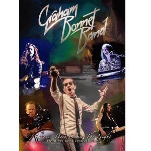 GRAHAM BONNET BAND / グラハム・ボネット・バンド / LIVE...HERE COMES THE NIGHT / フロンティアズ・ロック・フェスティヴァル2016~ライヴ...ヒア・カムズ・ザ・ナイト<初回限定盤ブルーレイ+CD>