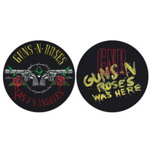 GUNS N' ROSES / ガンズ・アンド・ローゼス / LOS F'N ANGELES & WAS HERE SLIPMATSET