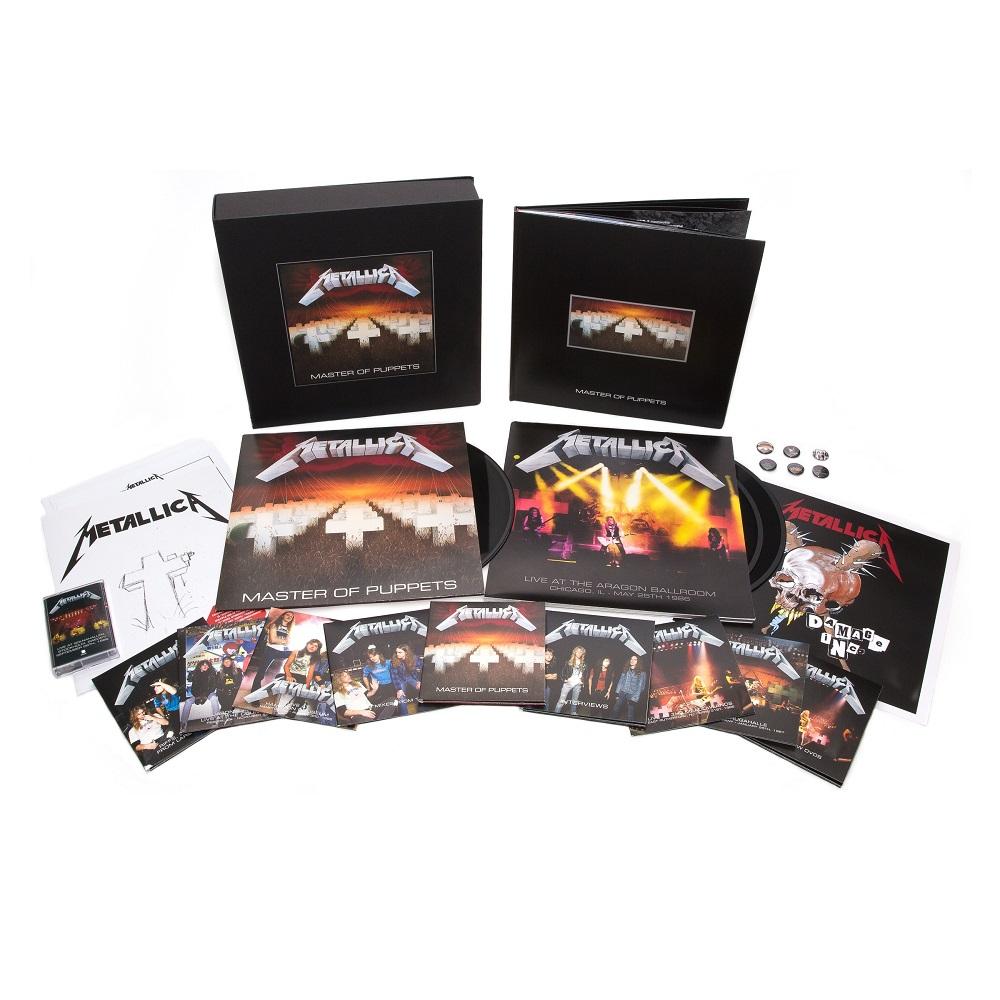 METALLICA / メタリカ / MASTER OF PUPPETS(DELUXE BOXSET) / メタル・マスター<リマスター・デラックス・ボックス・セット>