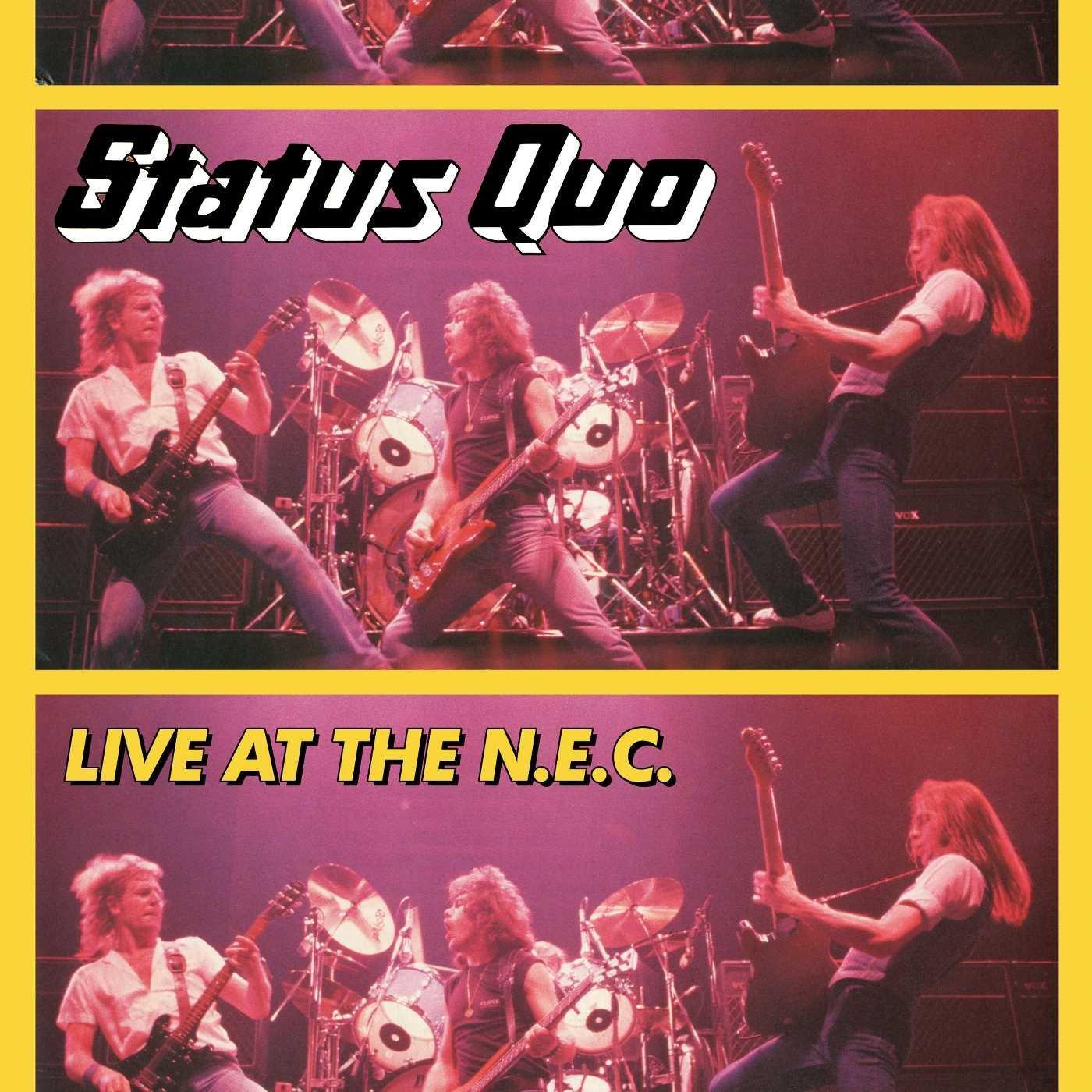 STATUS QUO / ステイタス・クオー / LIVE AT THE N.E.C.