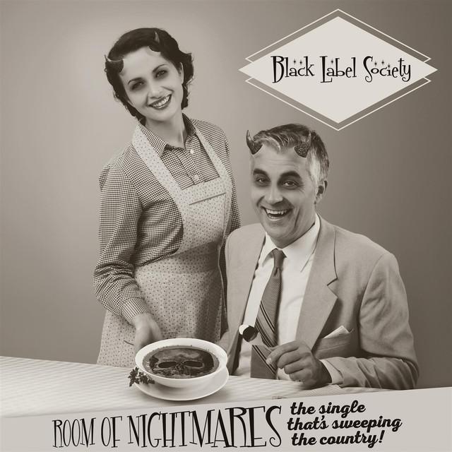 """BLACK LABEL SOCIETY / ザック・ワイルド・ブラック・レーベル・ソサイアティ / ROOM OF NIGHTMARES<7"""" / BLACK VINYL>"""