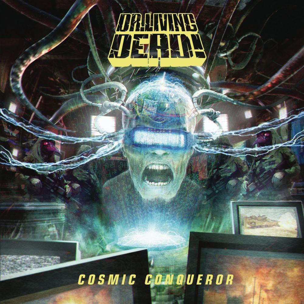 DR.LIVING DEAD! / COSMIC CONQUEROR <BLACK VINYL+CD>