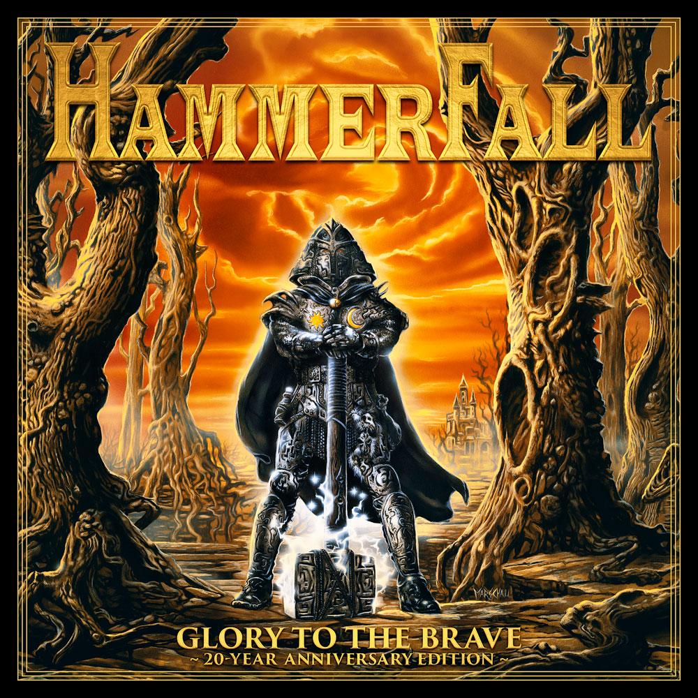 HAMMERFALL / ハンマーフォール / GLORY TO THE BRAVE  / グローリー・トゥ・ザ・ブレイヴ~20周年記念盤<2CD+ボーナスDVD>