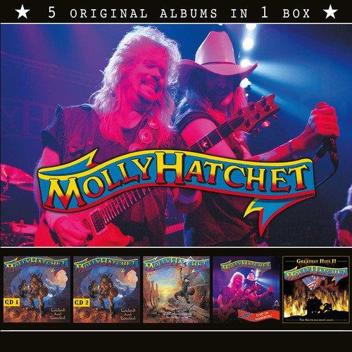 MOLLY HATCHET / モーリー・ハチェット / 5 ORIGINAL ALBUMS IN 1 BOX <5CD/BOX>