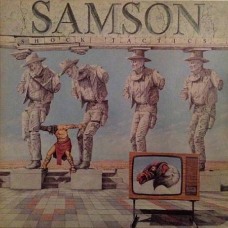 SAMSON (METAL) / サムソン / SHOCK TACTICS / 魔界戦士