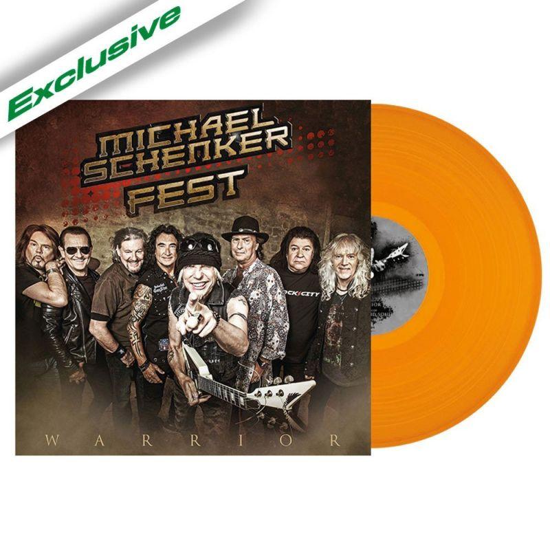 MICHAEL SCHENKER FEST / マイケル・シェンカー・フェスト / WARRIOR (12'' EP)<ORANGE VINYL>
