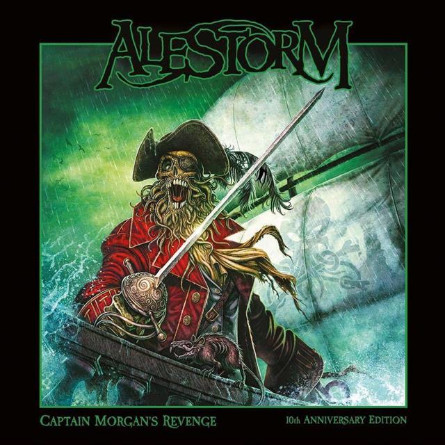 ALESTORM / エイルストーム / CHAPTAIN MORGAN'S REVENGE - 10th ANNIVERSARY EDITION<2CD> / キャプテン・モルガンズ・リヴェンジ - 10周年記念盤