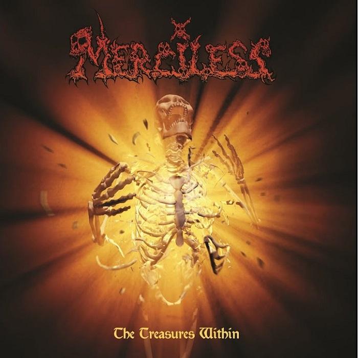 MERCILESS / TREASURES WITHIN<ORANGE VINYL>