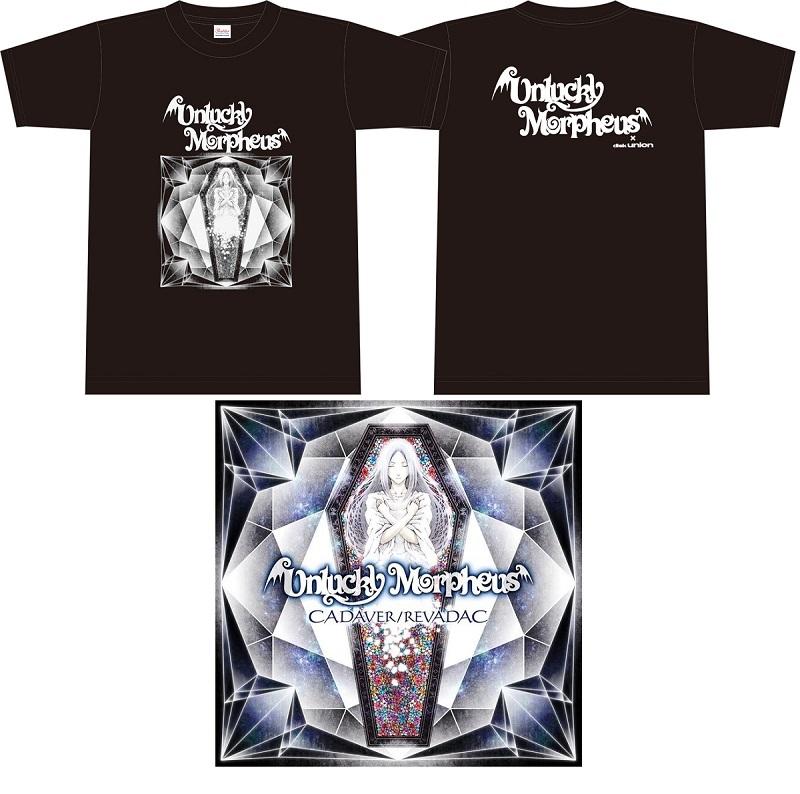 UNLUCKY MORPHEUS / アンラッキー・モルフェウス / CADAVER / REVADAC / キャダヴァー / レヴァダック<Tシャツ(Sサイズ)付き>
