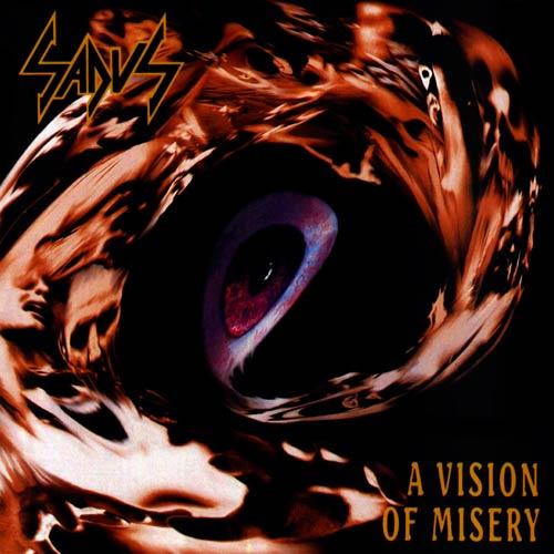 SADUS / セイダス / A VISION OF MISERY<BLACK VINYL>