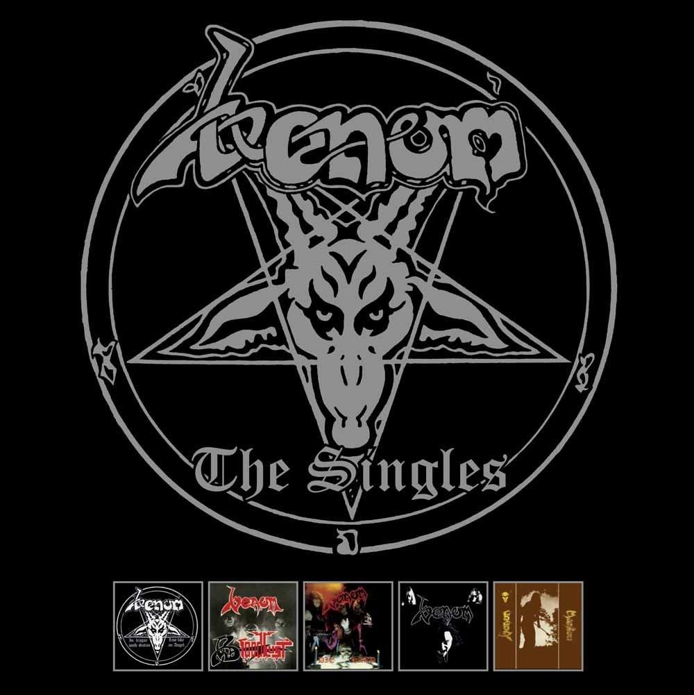 VENOM / ヴェノム / THE SINGLES<5CD>