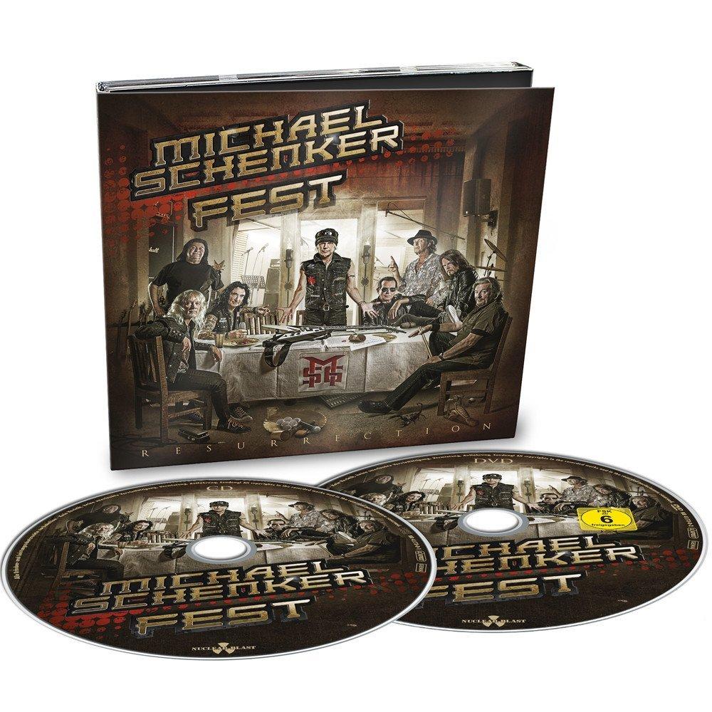 MICHAEL SCHENKER FEST / マイケル・シェンカー・フェスト / RESURRECTION<CD+DVD/DIGI>