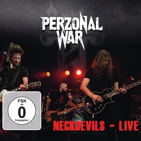 PERZONAL WAR / NECKDEVILS - LIVE <CD+DVD/DIGI>