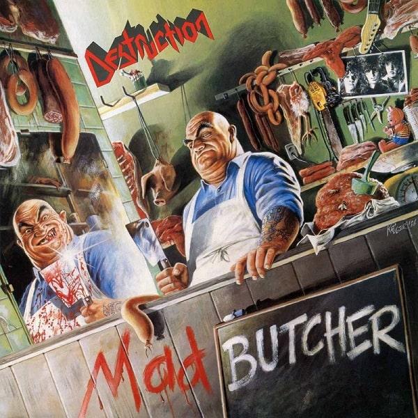 DESTRUCTION / デストラクション / MAD BUTCHER<SLIPCASE>