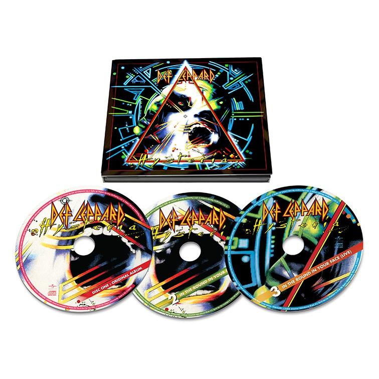 DEF LEPPARD / デフ・レパード / HYSTERIA / ヒステリア<30周年記念3CDデラックス・エディション>